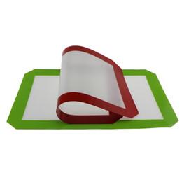 Tapis anti-adhésifs en silicone pour cire 30 cm x 21 cm (11,81 x 8,27 pouces) Tapis de cuisson en silicone Tampon à l'huile de cuisson pour cuisson à sec