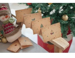 discount greeting cards christmas envelopes 6pcs christmas greeting card with envelope folding cartoon snowman gift - Discount Christmas Cards