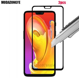 Discount oneplus one tempered screen - 2pcs Tempered Glass OnePlus 6 Screen Protector OnePlus 6 Tempered Glass One Plus Six 2018 A6000 A6003 OnePlus6 Film Full