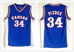 7374c58ea Paul Pierce Jersey Canada - 2018 Kansas Jayhawks  34 Paul Pierce basketball  jerseys Stitched embroidery