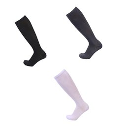 $enCountryForm.capitalKeyWord UK - 3 Pairs Women Men Compression Socks Knee High Stocking Nylon Sports Athletic Running Socks for Exercise