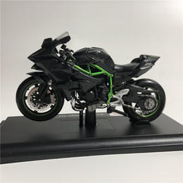 maisto models 2019 - Maisto 1:18 KAWASAKI NINJA H2 R Motorcycle Diecast Alloy Model Toy Black Ninja H2R Motorbike Collection Gift cheap maist