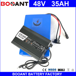 Motor Bicycles Australia - BOOANT 48V 35AH E-Bike Li-ion Battery For Bafang 1800W Motor Electric Bicycle Battery pack 48V EU US Free Customs +5A Charger