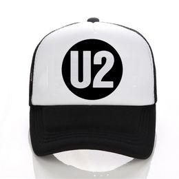 uk availability e6a65 f3b18 Rock Band cap U2 The Joshua Tree 30th Anniversary 2017 World Tour baseball  caps Top Quality Hip-Hop Hat men women snapback caps