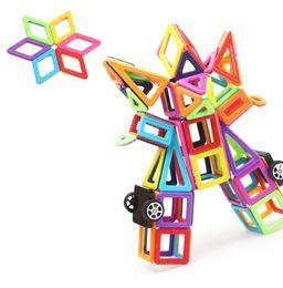 Magnetic Blocks Educational Australia - Magnetic Building Blocks 3D Magnetic Designer Building Kits Magnetic Construction Models Educational Toys For Kids Gift