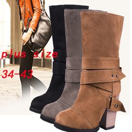 8a98ac01cac european style sock boots women korean version buckle strap botas gamuza shoes  woman bow heels large size british short genuine