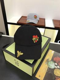 2018 boule chaude chapeaux grenouille en sirotant du thé de baseball papa visière Cap Emoji New populaire abeille casquettes chapeaux pour hommes et femmes avec la boîte