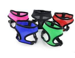 China Adjustable Pet Dog Leads Chest Straps Small Pet Basic Halter Harnesses keep your dog & cat safe and comfortable DHL supplier led safe suppliers