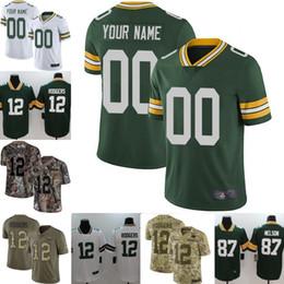 Men Youth women Jaire Alexander Aaron Rodgers Brett Favres Jimmy Graham  Davante Adams Clay Matthews Custom Packers Camo jersey 01 2746941dd