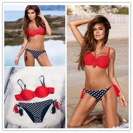 dc8413dfbe7c5 trend Sexy Bikinis Beach Women Swimsuit Split type Summer Low Waisted Bathing  Suits Halter Top Push Up Bikini Set Plus Size Swimwear S-XXL