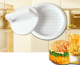 hamburger tool NZ - DIY Hamburger Meat Press Tool Patty Makers Meat Burger Maker Mold Food-Grade Plastic Hamburger Press Burger Maker