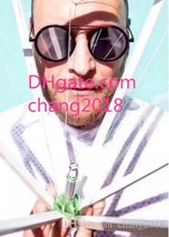 $enCountryForm.capitalKeyWord NZ - top quality designer sunglasses for womens mens retro round frame avant-garde design style UV protection light-colored lens glasses