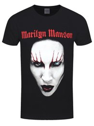 $enCountryForm.capitalKeyWord UK - Marilyn Manson Red Lips Men's Black T-shirt Funny free shipping Unisex Casual tee gift