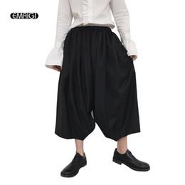 Verano Nuevos Hombres Japón Estilo Kimono Pantalones Anchos Ocasionales de  La Moda Masculina Harem Falda Pantalones Trajes de Desgaste Escenario 8bb94a5df86