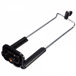 Per iPhone iPad Supporto per staffa per treppiede Clip per fotocamera Samsung HTC 165-198MM