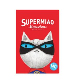 Cat notebook notepad online shopping - A5 Cute Notebook Kawaii Notebook Red Cat Plastic Cover mm sheets pages