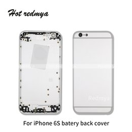 7f0ada9016b6ee High quality Metal Full Housing Battery Cover Door Rear For iPhone 6S 6S  Plus Cover Chassis Frame Back 6 Housing Cover with Side Buttons DHL