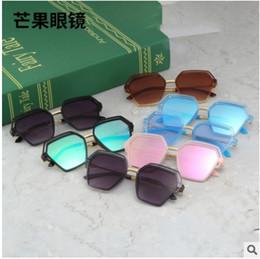 $enCountryForm.capitalKeyWord NZ - Child Eyewear High Quality Hollow Polygon Kids Sunglasses For Boys Girls Cool Summer Children Sun Glasses oculos infantil E1804