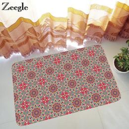 $enCountryForm.capitalKeyWord NZ - Zeegle Outdoor Rugs Home Doormat For Entarnce Door Non-slip Bedroom Carpet Bedside Rugs Bathroom Floor Mat Absorbent Kitchen Mat