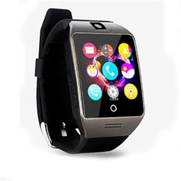 $enCountryForm.capitalKeyWord Australia - New NFC Bluetooth Smart Watch Q18S With Camera Smartwatch Support Sim TF Card for IOS Android Phone