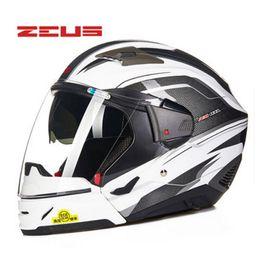 $enCountryForm.capitalKeyWord Australia - ZEUS Modular Helmet Motorcycle Half Helmet Full Face Headgear Mutil-function Easy Clasp Closure Safe Combined Helmets