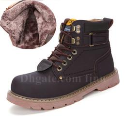 a613d969 Zapatos al aire libre de otoño e invierno Hombre Mujer Martin botas  Amarillo, marrón oscuro, marrón claro, negro Zapatos casuales Botas de  nieve cálidas con ...