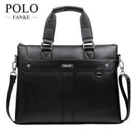 $enCountryForm.capitalKeyWord NZ - FANKE POLO Famous Brand New Men Handbags PU Leather 2017 Man Business Shoulder Bags Male Tote Messenger Bags Briefcase XB137-N