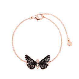 butterfly chain bracelets silver Australia - Europe and the United States elegant butterfly bracelet female simple hundred matching fashion jewelry accessories manufacturers wholesale