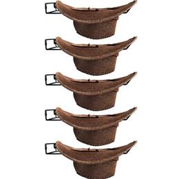 Опт Cowboy Hat Rack Cowboy Hat Holder Coyboy Organizer 5/PK- No