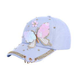 2dab1f35ce18f2 Pearl Baseball Caps UK - Spring Summer Cotton Cap Baseball Cap Snap Back Hat  Hip Hop
