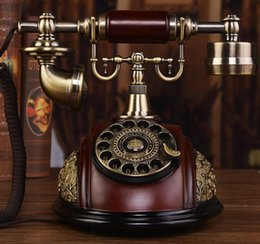 EuropEan tElEphonE antiquE online shopping - antique telephone machine European classical old American creative fixed household fixed line craft retro office landline