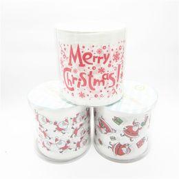 $enCountryForm.capitalKeyWord NZ - 3packs 30m pack Christmas design Printed napkin Paper Toilet Tissues Roll Novelty Toilet Tissue Wholesale