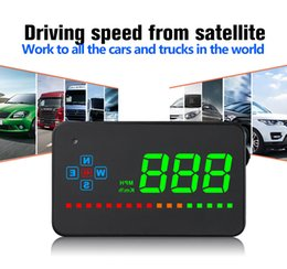 $enCountryForm.capitalKeyWord Australia - Digital GPS Speedometer A2 Head Up Display Auto HUD Windshield Projector Electronics Car Speed Projector Suitable for all Cars