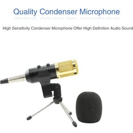 RecoRding micRophones online shopping - Professional Condenser USB Microphone BM900 for computer BM Upgraded Audio Studio Vocal Recording KTV Adjustable volume