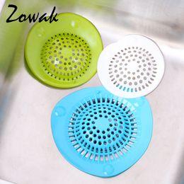 Bathroom Shower Drain Hair Catcher Stopper Kitchen Bathtub Floor Sink  Strainer Filter Cover Rubber Trap Outfall Plug Net Drainer