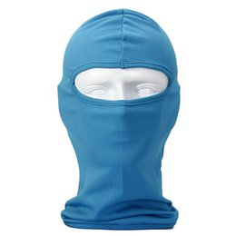 $enCountryForm.capitalKeyWord NZ - Wholesale- Multifunctional Bandana   Cap for Bike   Hood Resistant Face Mask Wind and the Dust for Sport, Outdoor, traveling Blue