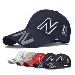 69c66192b8c9 Long Brim Sun Visor Hat Multicolor Outdoor Sports Baseball Cap For Men Women  Leisure Breathable Fabric Caps 5 2sz Z