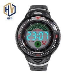 Men Digital Wrist Watches Australia - 2018 Male Fashion Digital Watch Sport 3Bar Waterproof Wrist Watch Electronic Automatic Men Watches Dropshipping Clock H796-B