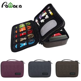 Discount laptop travel power - Portable Travel case Cable Organizer clips electronic accessories Storage Bag for USB Drive Charger Power flash disk lap