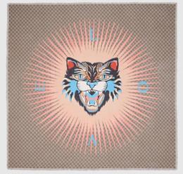 $enCountryForm.capitalKeyWord Australia - scarf Silk Wool Wrap Shawl Pashmina Scarf Angry Cat print modal silk shawl