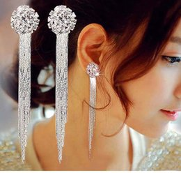 Formal Earrings Australia - New Style Bridal Jewelry Gorgeous Earrings  Shinning Evening Tassel Wedding Accessories Event 123707ae33b1