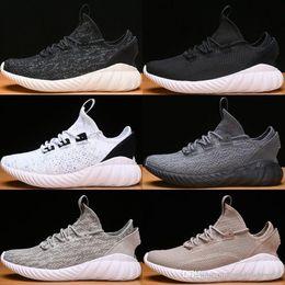 74fd5e66dbaf Wholesale 2018 Tubular Doom Sock PK Shoes Tubular primeknit Summer Mesh Trainers  Mens Shoe Triple Black White Sneakers Running Shoes 36-44