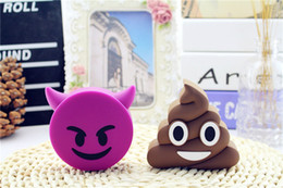 $enCountryForm.capitalKeyWord Australia - Cartoon Power Bank facial expressions mobile power portable gifts rechargeable for Samsung Galaxy i9300 Note2 N7100 iphone 5 5S 5C 4 4s