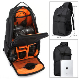 Dslr Camera Sling NZ - ightpro Photo Waterproof DSLR SLR Sling Flipside Camera Orange Nylon Bag Backpack Outdoor Shoulder Bag for