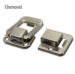 Osmond 37x25mm metallo serratura hardware cabinet box accessori borsa fai da te fermo cattura toggle borse parti pulsante chiusura chiusura serrature