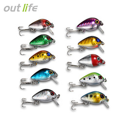 Minnow Mini bait online shopping - Outlife DW1082 Fishing Lures ABS Mini Minnow Baits with Hooks Box come with x Fishing Bait x Storage Box