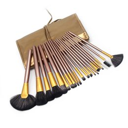 Chinese  21pcs Makeup Brushes Professional Make-up Toiletry Kit Make Up Brush Set Women Beauty Health Cosmetic Tool manufacturers
