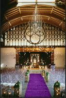 House Plates Australia - ShinyBeauty 3FTX15FT Sequin Aisle Runner-Purple Sparkly Carpet Runner Carpet Aisle Runner for Wedding Christmas  Thanksgiving Decor