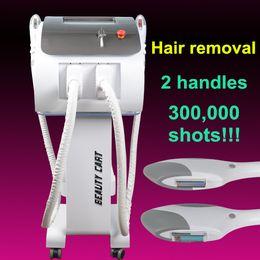 Ipl Hair Skin Australia - Best selling Two handles OPT IPL machine SHR handle for hair removal Elight handle for skin rejuvenation