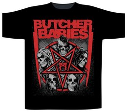 $enCountryForm.capitalKeyWord Australia - Butcher Babies 'Star Skull' T-Shirt - NEW & OFFICIAL